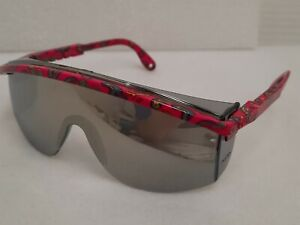 Uvex Astrospec 3000 Paisley Frames With Mirrored Lens Safety Glasses