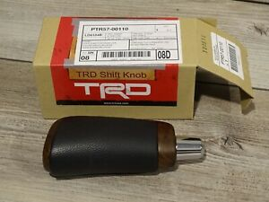 2013 2014 Genuine Oem Toyota Tundra 1794 Sequoia Brown At Burl Wood Shift Knob
