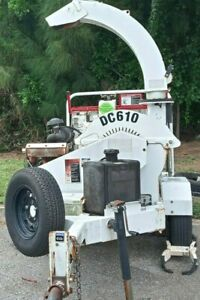 Altec Dc610 10 X 6 Towable Wood Brush Chipper Serviced And Ready To Work