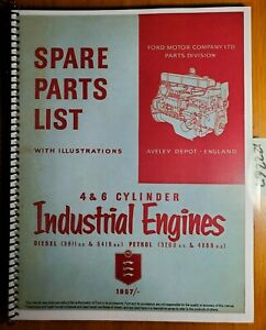 Ford 4 6 Cyl Gas Diesel 3200 3611 4888 5416 Industrial Engine Parts Manual 7 57