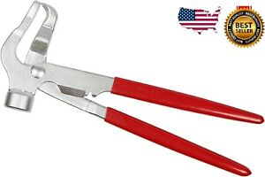 INSTALLER REMOVER PLIERS FOR WHEEL WEIGHTS BALANCE RIMS AUTO HAMMER TIRE TOOL $11.68
