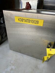 New Hoffman Stainless Steel Enclosure 20 X 20 x 8 W Backplate Csd202010ss
