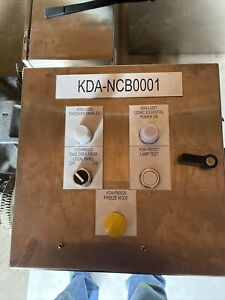 New Hoffman Stainless Steel Enclosure 20 X 20 x 8 W Backplate Csd161610ss