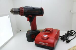 Snap On Cdp6850 1 2 Cordless 14 4v 1 2 Drill W Battery Charger Good Cond