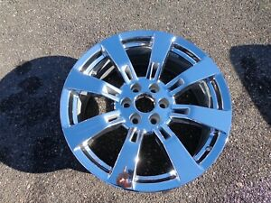 Chrome 22 Escalade Yukon Wheel Tahoe Oem Factory Gm Spec Ck375 5409 19300989