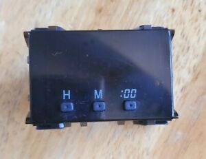 1996 2002 Toyota 4runner Pickup Digital Dash Clock Japan Oem Guaranteed Repaired