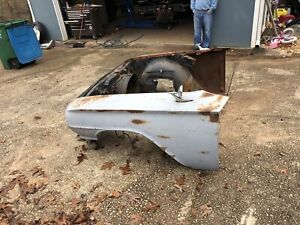 1960 Chevrolet Complete Front Clip Fenders Impala Biscayne Bel Air El Camino