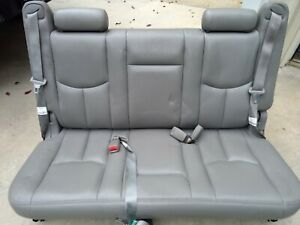 2000 2006 Suburban Yukon Xl 3rd Third Row Bench Seat Leather