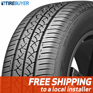 2 New 225 60r17 Continental Truecontact Tour Tires 99 T