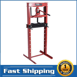 Titan 12 Ton Hydraulic Shop Floor Press H Frame 24000 Lb Heavy Duty Steel New