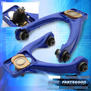 For 96 00 Honda Civic Ej Ek Front Jdm Adjustable A arms Control Camber Kit Blue