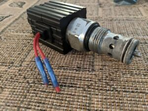 Bucher Hydraulics Proportional Flow Control Valve In line Normally Close 13595