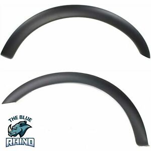 New Fender Flares Moulding Trim Wheel Opening Molding Set Of 2 Front F 150 Pair