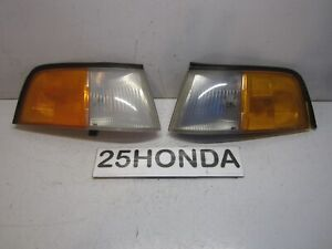 1986 1990 Acura Legend 2 Door Coupe Stanley Oem Corner Lights Ka1 Ka2 Rare