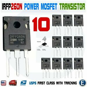 10pcs Irfp260n Power Mosfet Irfp260 N channel Transistor 50a 200v To 247
