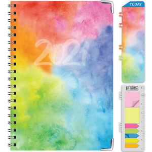 Hardcover 2021 Planner nov 2020 Dec 2021 Daily Weekly Monthly Planner
