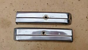 1940 Chevy Cowl Stainless Trim Moldings Original Pair Special Master Deluxe
