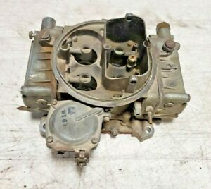 Holley 1850 2 600cfm Vacuum Secondary 4 Barrel Carburetor For Parts