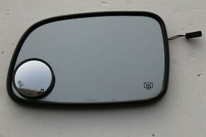 99 04 Jeep Grand Cherokee Driver Side Mirror Glass Heated Auto Dim Door Mirror