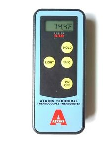 Atkins Technical Thermocouple Thermometer Series 330 Nsp1132 0 Euc