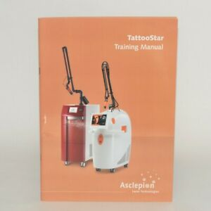 Asclepion Laser Technologies Tattoostar Q switched Training Fractional Manual