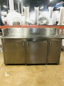 The Stearnes Company Food Service Stainless Steel Prep Table