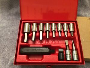 Snap On 12 Piece Impact Driver Set 1 2 Drive Pit3120eb