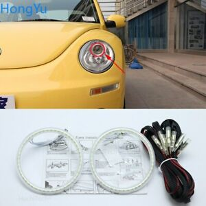 Smd Led Angel Eyes Halo Ring Drl For Volkswagen Vw Beetle 2006 2010 Accessories