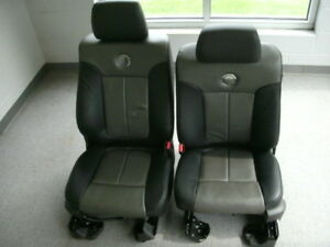 Ford F 150 Harley Davidson Leather Front Rear Seats