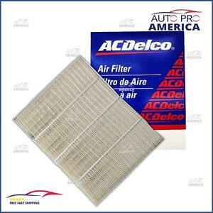 New Oem Gm Acdelco High Flow Engine Air Filter Cadillac Chevy Gmc A3181c