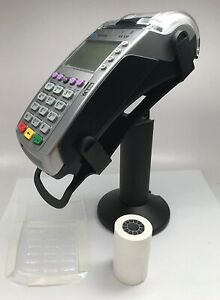 Verifone Vx520 Emv Ctls Terminal swivel Stand spill Cover 24 Thermal Paper