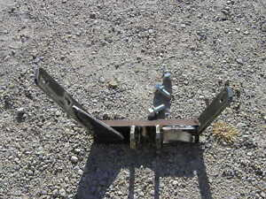 Farmall 340 Utility Tractor 2pt To 3pt Top Link Holder Bracket Mounting Bolts