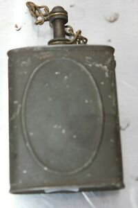 Vintage LUBE OIL Military Machine Gun Lubrication Tin Can Antique U.S. $22.00