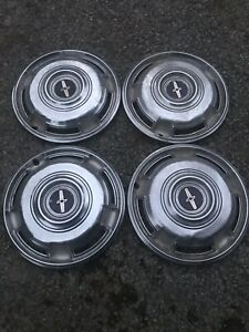 Set Of 4 1968 1969 1970 Chevrolet Chevy Camaro Hubcaps Wheel Covers Center Caps