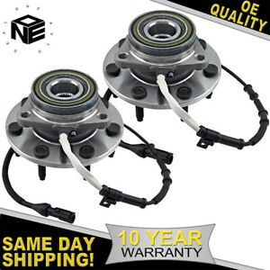 2x Front Wheel Bearing Hub Assembly For 2000 2003 Ford F 150 2004 F 150 Heritage