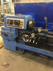 22 5 X 120 Lodge Shipley Power Turn Lathe
