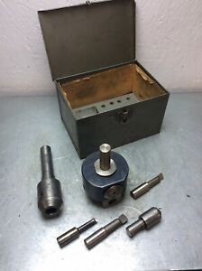 Bridgeport 2 Boring Head 3 4 Shank With R 8 Tool Holder Fits Miilling Machine