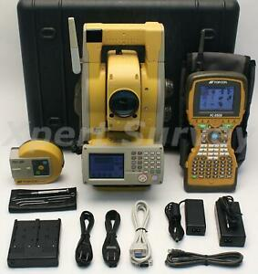 Topcon Gpt 9003a 3 Robotic Total Station W Fc 2500 Rs 1 2 4ghz Spsp Radio