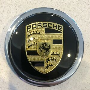 Porsche Horn Buttonfor Nardi 356 911 Speedster Cayman Outlaw Black Stripes
