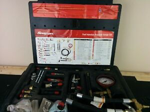 Aj009 Snap On Master Fuel Injection Pressure Test Kit Eef1500