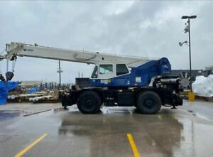 30 Ton Tadano Gr 300xl 1 Rough Terrain Crane 2009 Low Hours