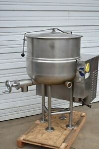 Cleveland Kgl 40 Natural Gas 40 Gal Soup Sauce Steam Kettle