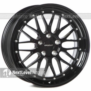 1 Circuit Performance Cp30 18x8 5 114 3 35 Gloss Black Wheels Lm Style