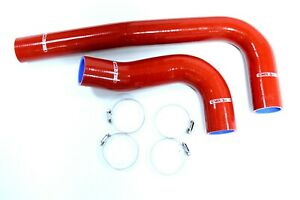 Red Silicone Radiator Hose Fit 03 10 Dodge Ram 2500 3500 5 9 6 7l Cummins Diesel