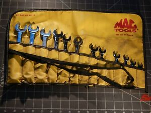 Read Mac Metric Short Knuckle Saver Combination Wrench Set 12 Of 14pc 6mm 19mm