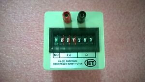 Iet Labs Rs 201 Resistance Substituter