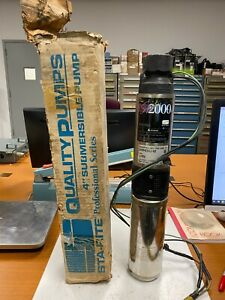 Sta rite Submersible Pump 10sp4c01j 02 W Franklin Electric Motor 2445049004