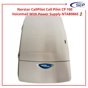 Norstar Callpilot Call Pilot Cp 100 Voicemail With Power Supply Ntab9865