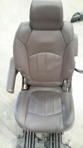 2013 2015 Buick Enclave Rear Left Brown Foldable Seat 2881