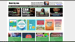 Mental Health Help Affiliate Product Website 100 Automated
